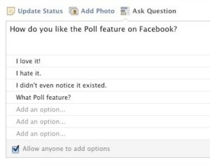 facebook-polling