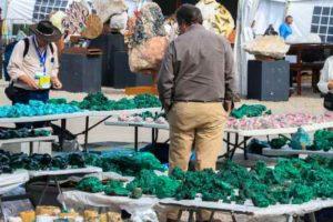 Malachite rough for sale