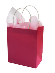 Give new customers a gift bag, never underestimate the value behind.